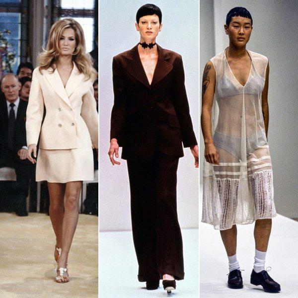Коллекции Prada весна-лето 1992, 1993 и 1994 г.г.
