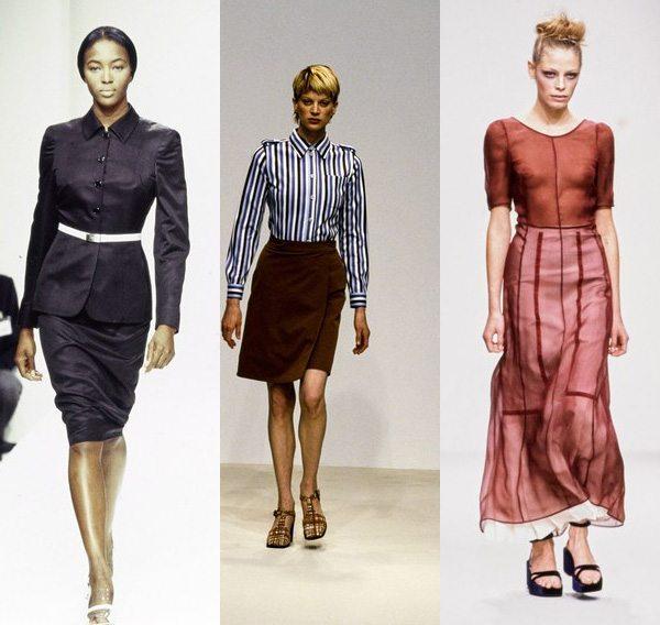 Коллекции Prada весна-лето 1995, 1996 и 1997 г.г.