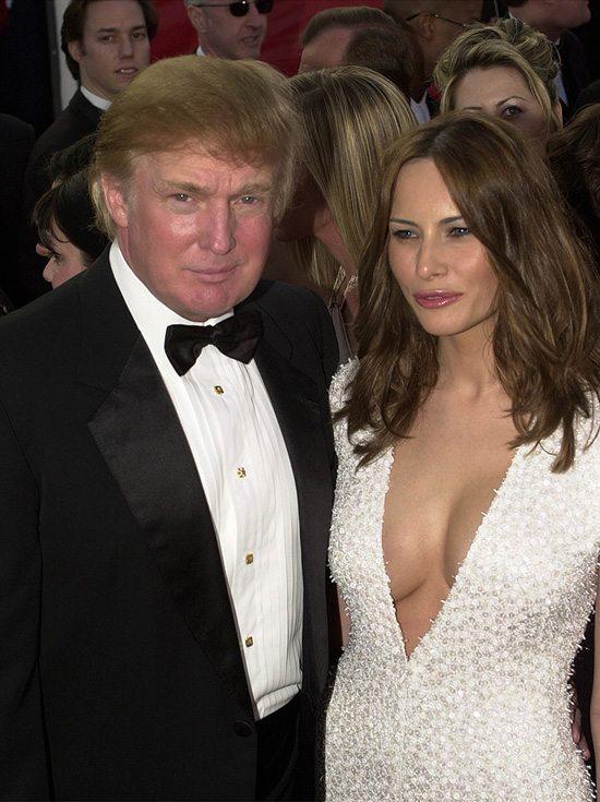 Супруги Мелания и Дональд Трамп