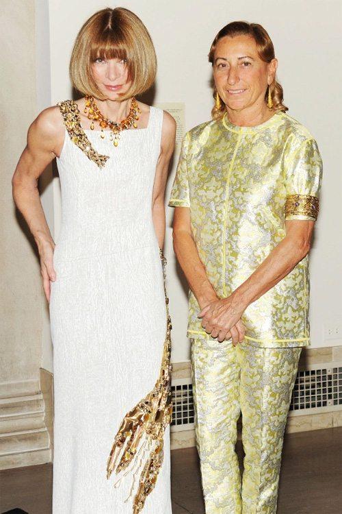 Миучча Прада и Анна Винтур носят Prada
