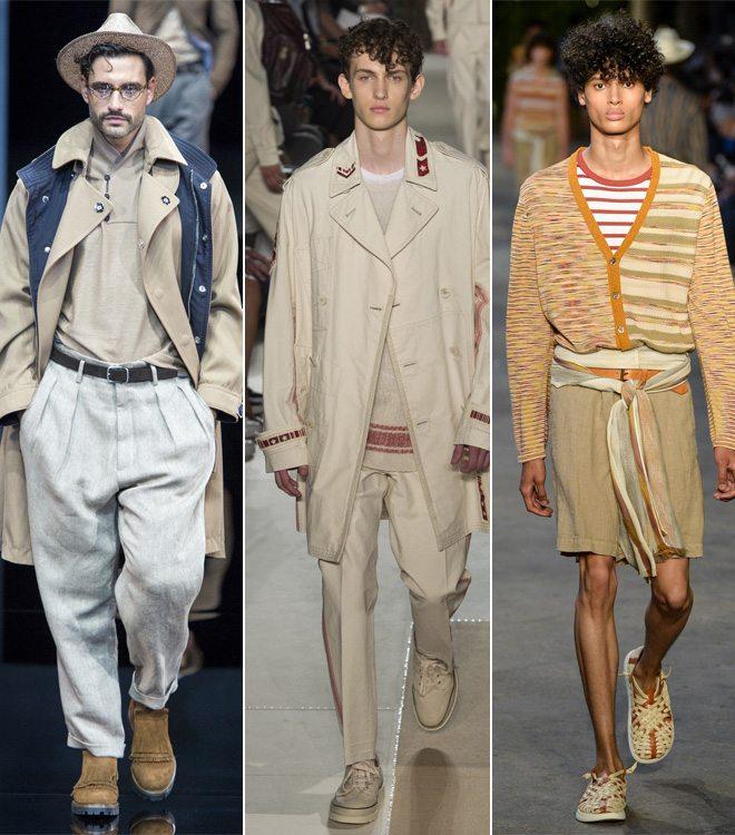 Модная мужская одежда от Valentino, Armani и Missoni весна-лето 2017