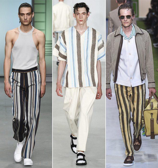 Модные мужские брюки и рубашки весна-лето 2017 от Tiger of Sweden, Lou Dalton, Fendi