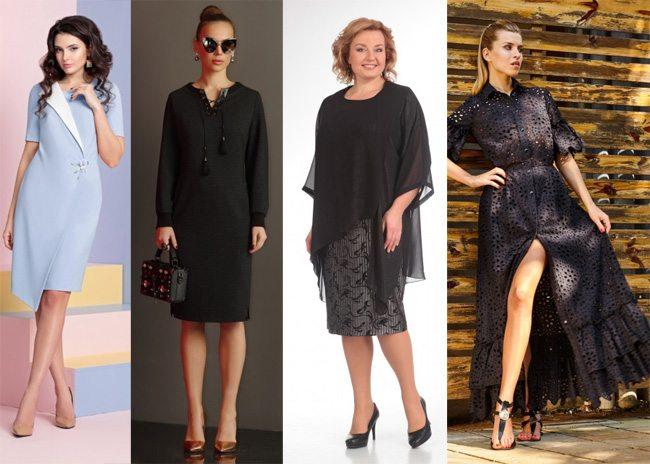 Нарядные платья 2017 с декоративным элементом