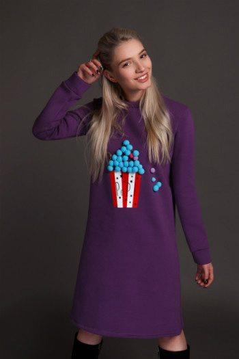 Стильное платье для девушки от украинского бренда