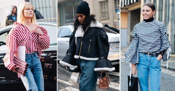 Пышные и широкие рукава в моде весной 2017