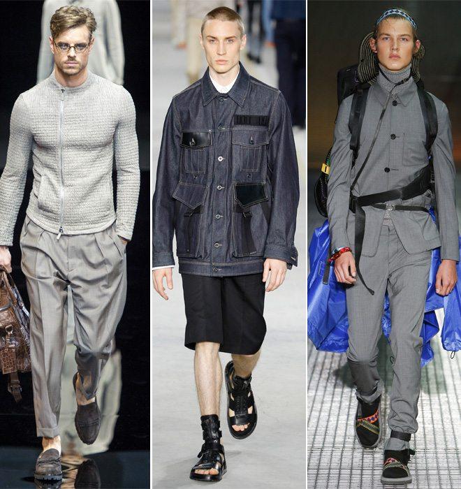 Модные тенденции мужской одежды весна-лето 2017
