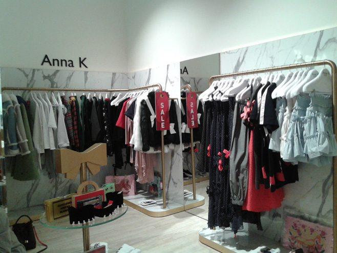 Коллекция украинского молодого дизайнера Анны К. в ЦУМе