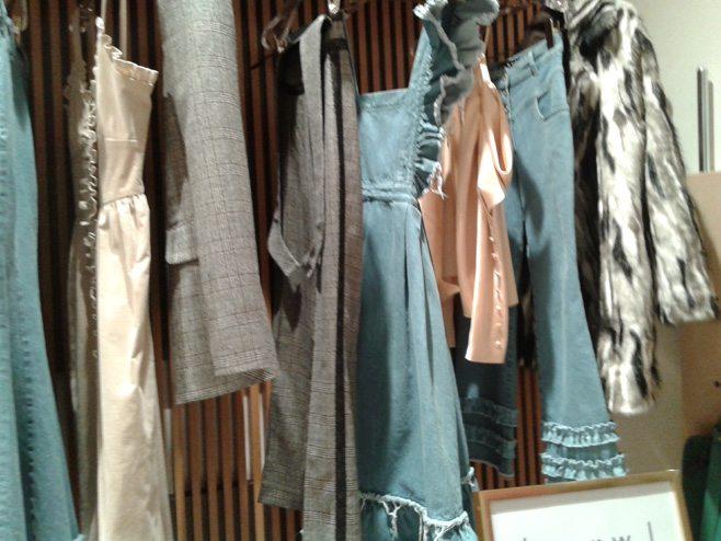 Пост-показы коллекций украинских дизайнеров одежды в ЦУМе