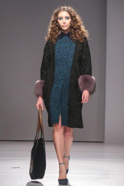 Пальто в стиле 40-х осень-зима 2017-2018