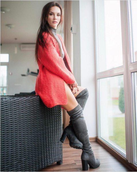 Любимый кардиган Анны Козырь