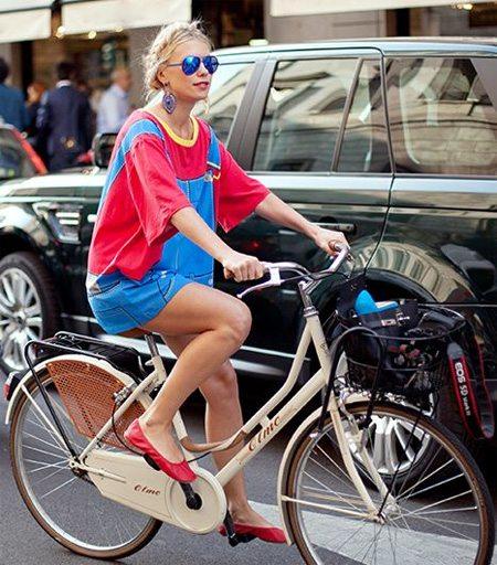 Городская модница