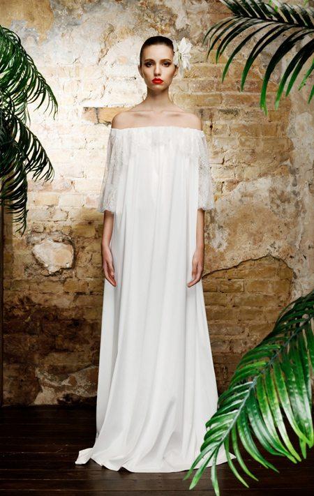 Платье белое украинского дизайнера
