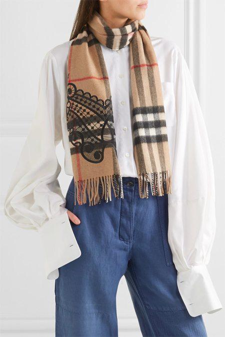 Оригинальный шарф Burberry