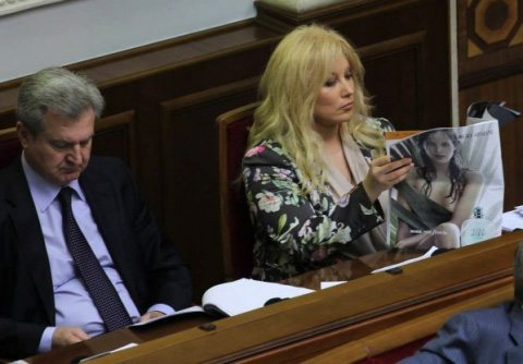 Таисия Повалий в Верховной Раде Украины