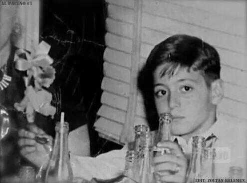 Аль Пачино в детстве