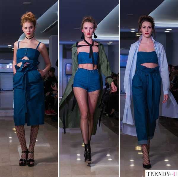 Модная одежда из денима от украинского бренда MALINA