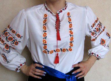Донецкая вышиванка