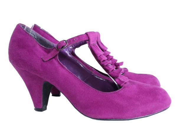 Туфли цвета фуксия женские NEW LOOK, цена 349 грн