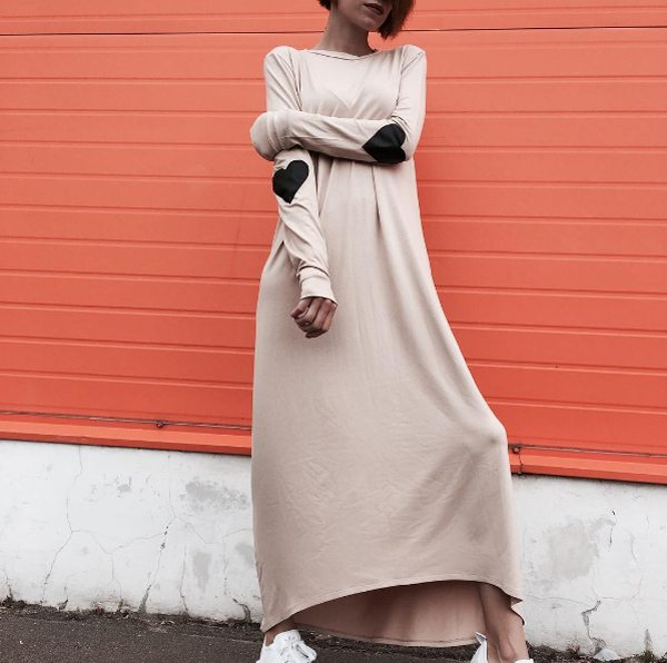 Платье оверсайз весна-лето 2017