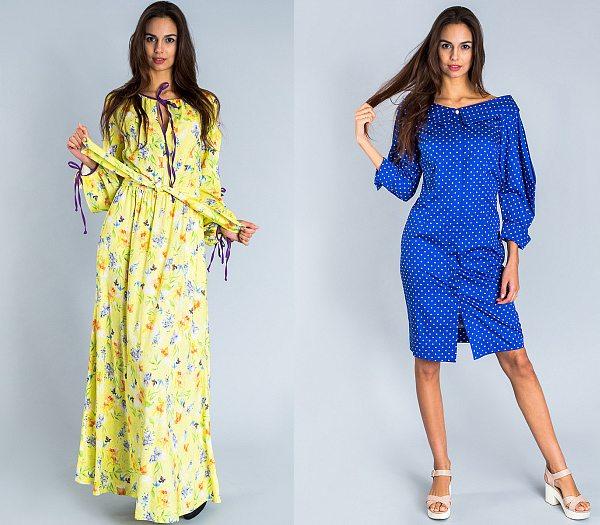 Летние платья из коллекции Andre Tan