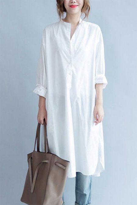 45ea3e58fa39 Платье-рубашка  с чем носить  30 эффектных идей   Trendy-U
