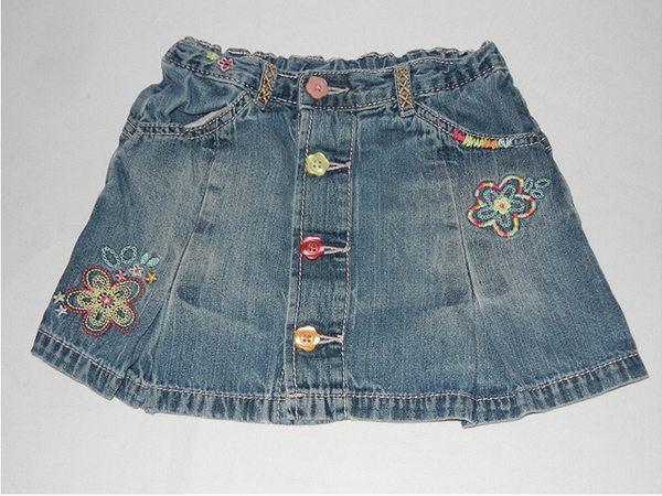 Юбка детская джинсовая, цена - 35 грн