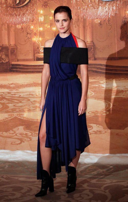 Эмма уотсон в коктейльном платье
