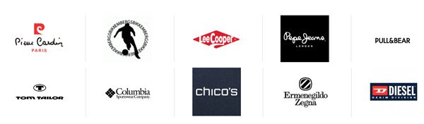 Список брендовой одежды