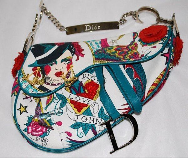 Оригинальная сумка Christian Dior новая в комиссионном магазине в Украине
