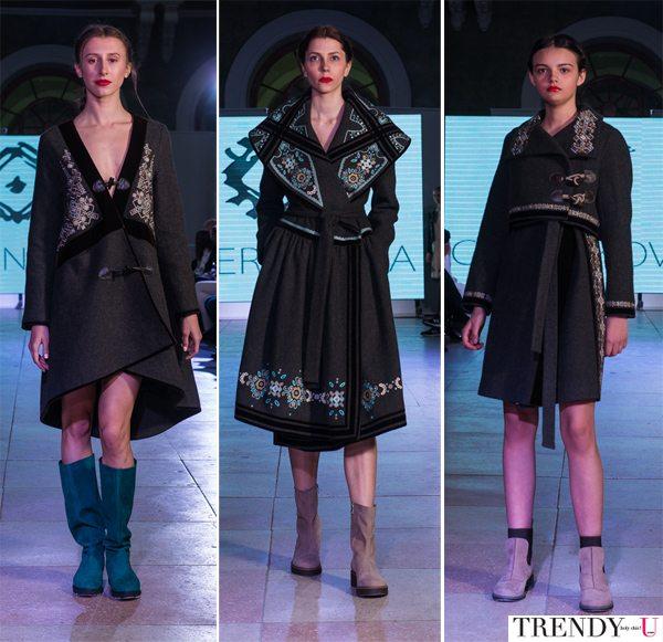 Модные пальто в этническом стиле осень-зима 2017 от украинского бренда CHERNIKOVA