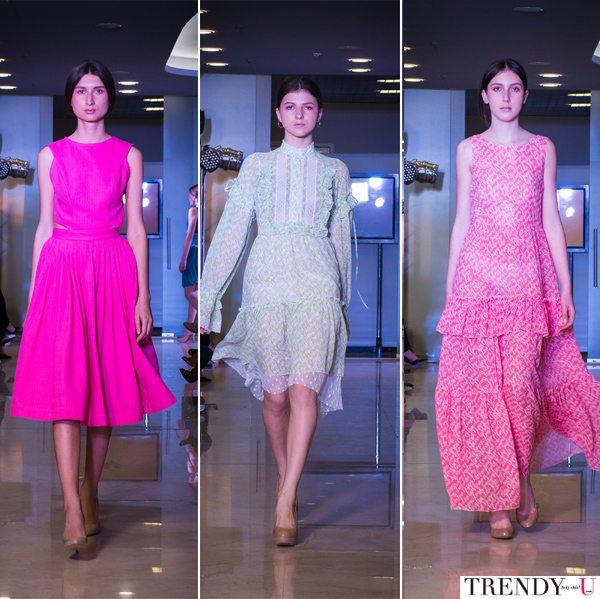 Летние платья от Daria Chuprina весна-лето 2017