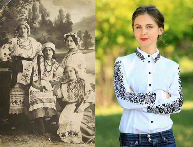 Вышиванка 1914 года и ее современная интерпретация