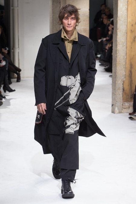 Мужская одежда Ойджи Ямамото осень-зима 2017-2018