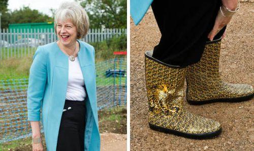 Тереза Мэй прославилась своей обувью с леопардовым принтом
