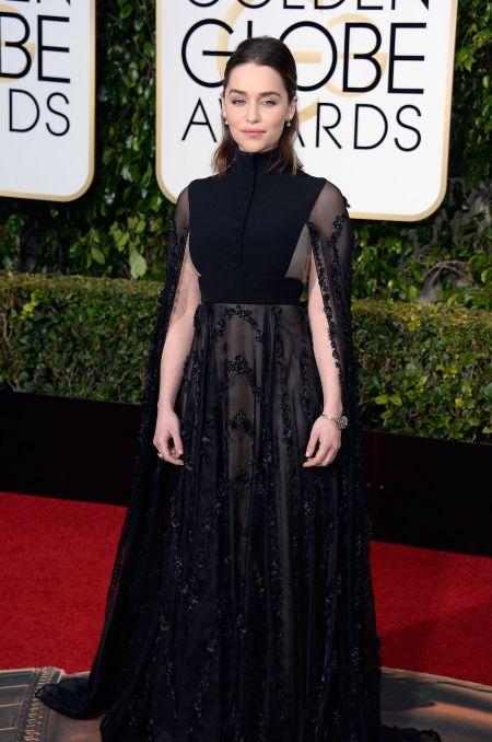 Emilia Clarke, Golden Globe Awards 2016