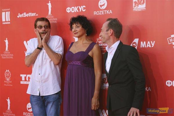 Гости Одесского международного кинофестиваля