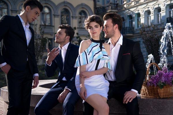 Летнее платье украинского бренда Herstory 2017