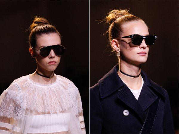 Солнцезащитные очки из коллекции Christian Dior весна-лето 2017