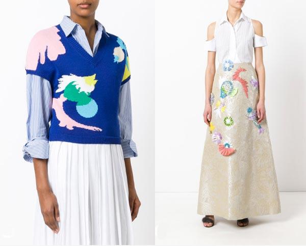 Джемпер и юбка от Делпозо в интернет-магазине