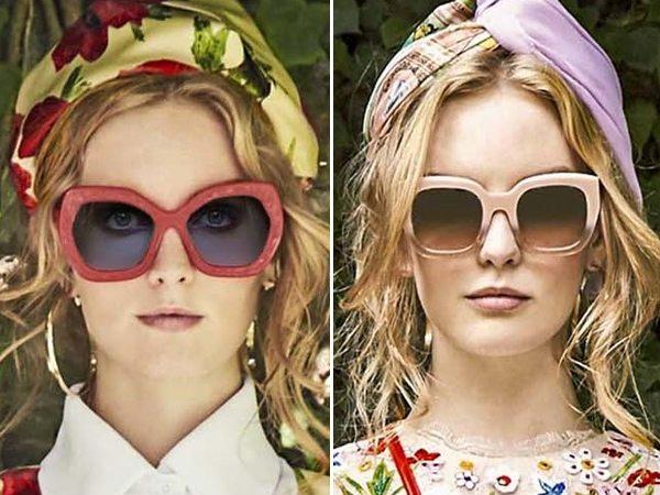 Модные оправы в коллекции Alice + Olivia SS 2017
