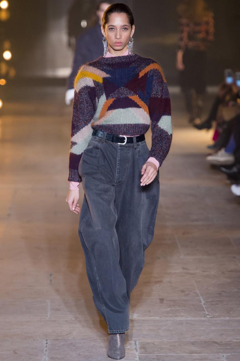 Объемные джинсы от Isabel Marant