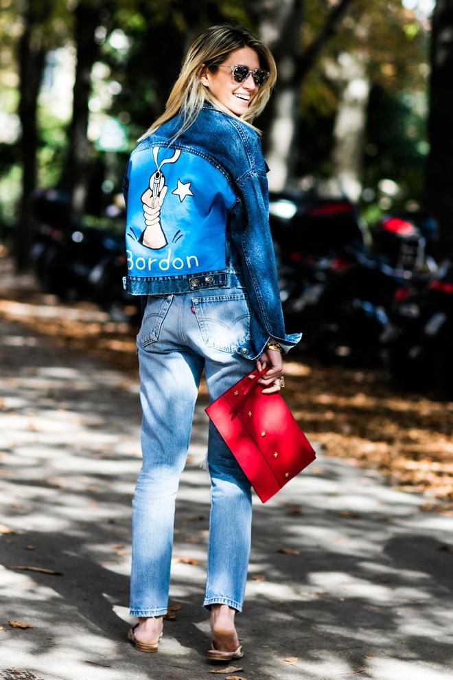 Джинсовая куртка и джинсы когда-то были неразлучны. Сегодня они снова вместе