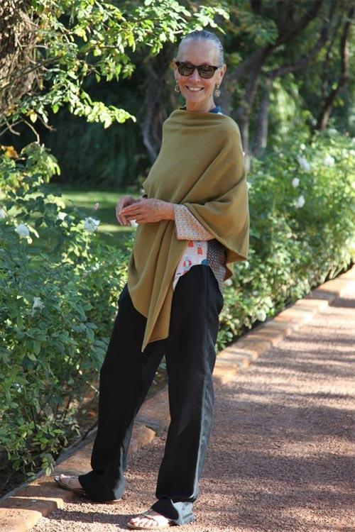 Линда Райт - модница в возрасте