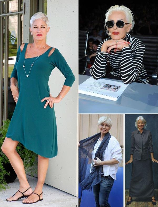 Образы для лета 2017 демонстрируют женщины среднего и пожилого возраста