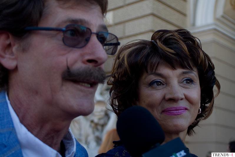 Борис Барский с супругой Натальей