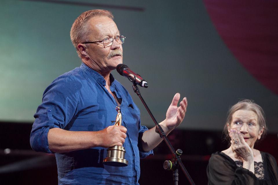 Сергей Буковский на церемонии вручения наград