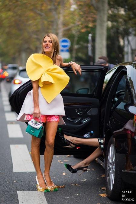 Анна Делло Руссо носит нарядные платья на каждый день