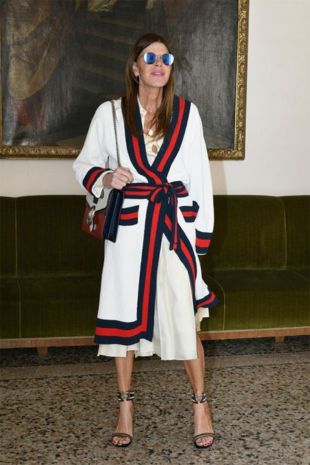 АдР в платье Bottega Veneta