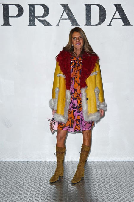 Анна Делло Руссо на мероприятии Prada