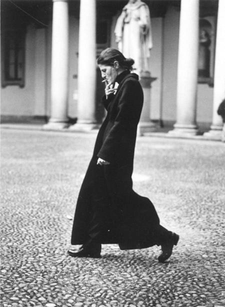 Фотография Анны Делло Руссо, снятая Хельмутом Ньютоном в 1996-м году